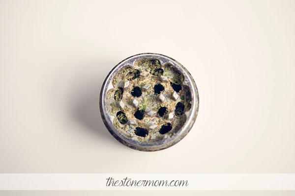 A weed grinder