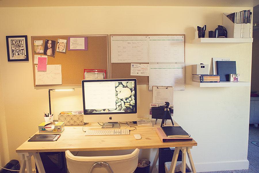 The Stoner Mom's 2014 Basement Desk