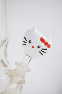 Image of a Hello Kitty bowl for a bong