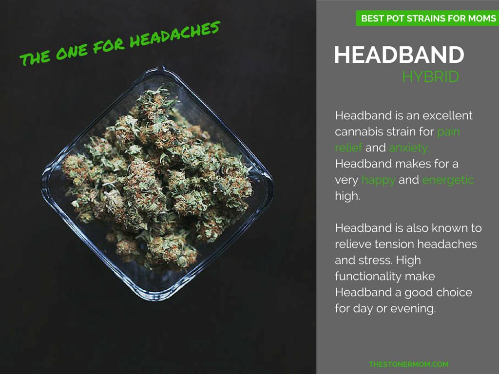 Marijuana Strain Headband