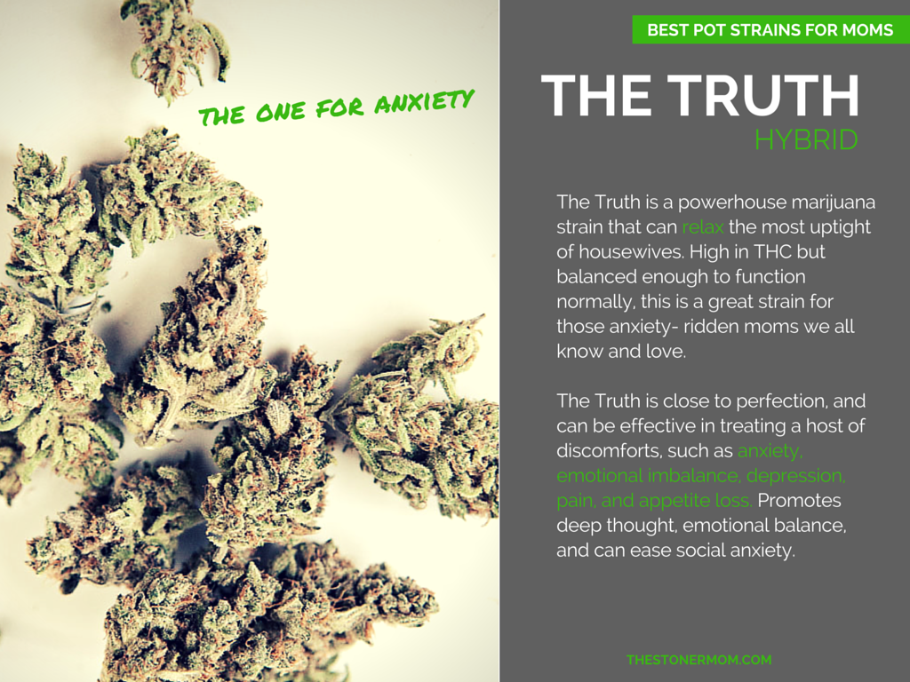 The Truth: Best Pot Strains for Moms