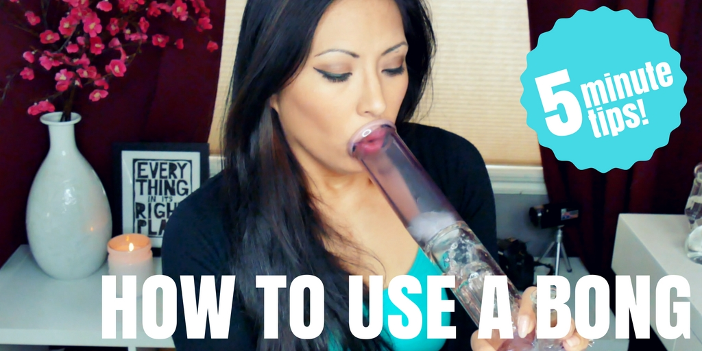 How to Smoke Weed with a Pipe or Bong | The Stoner Mom Show: 5 Minute Tips