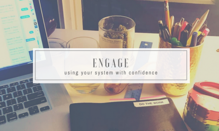 Engage | Choosing What to Do with Confidence | GTD for Stoners