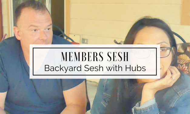 MEMBERS | Backyard Stoner Sesh with Hubby