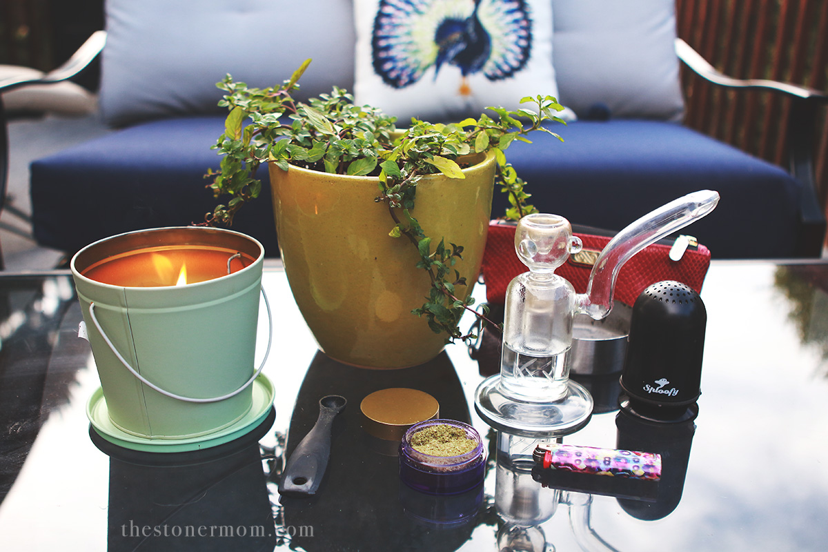 My Summer Stoner Sanctuary + Tips for Discreet Backyard Seshing