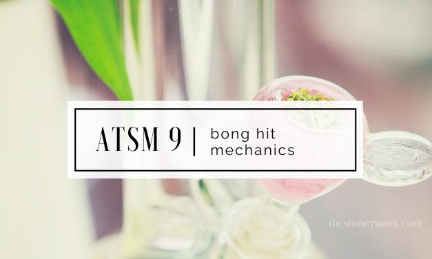 ATSM 9 | Stoner Basics: mechanics of the bong hit