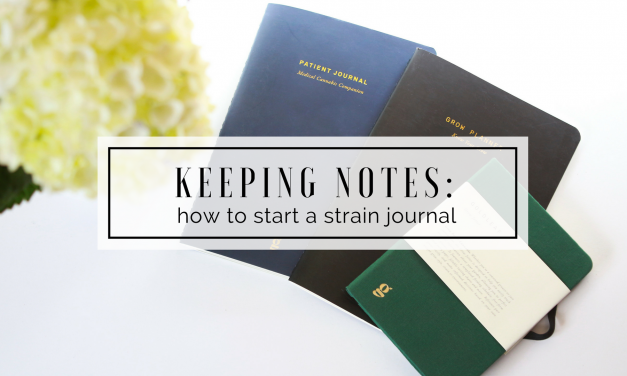 How to Start a Cannabis Strain Journal + Goldleaf Journal Review!