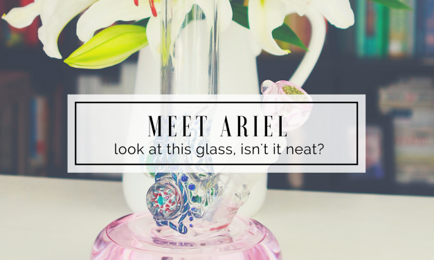 New Glass | Meet Ariel, another HVY Glass Bong!