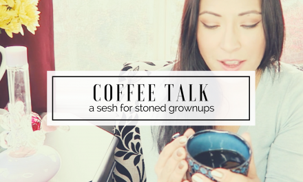 Coffee Talk | a Medication Sesh for Grownups