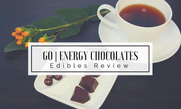 Edibles Review | Go! Energy Chocolate for Slaying the Day
