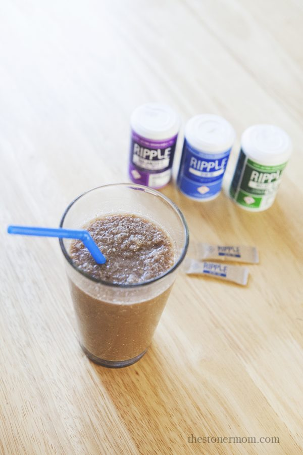 Medicated Morning Smoothie Recipe | Ripple Dissolvable THC Review