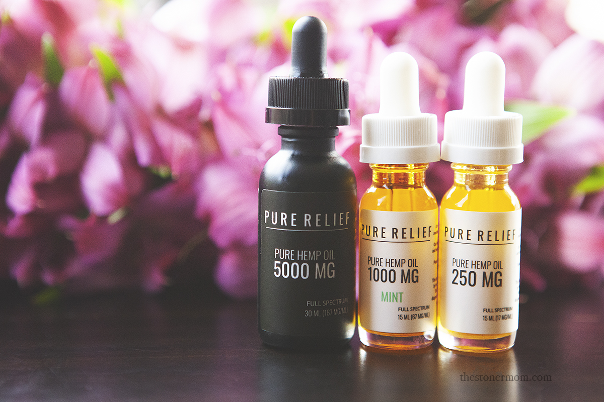 Pure Relief Review + Giveaway | Spotlight on CBD