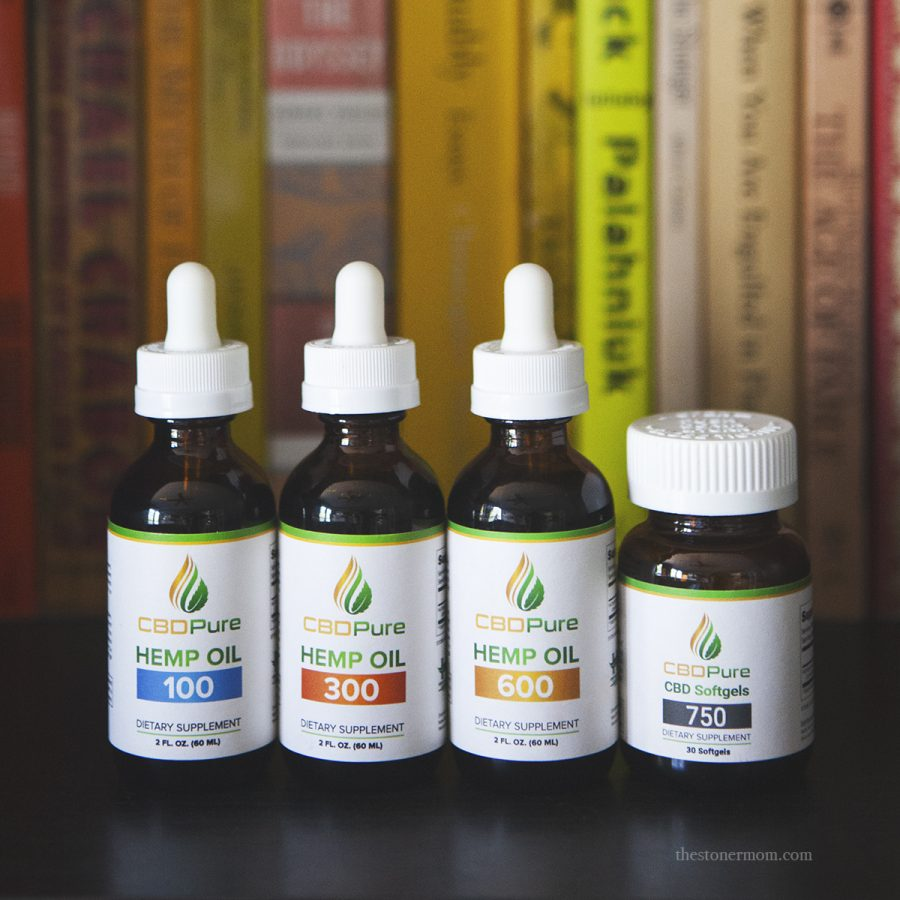 CBDPure Review | Spotlight on CBD - The Stoner Mom