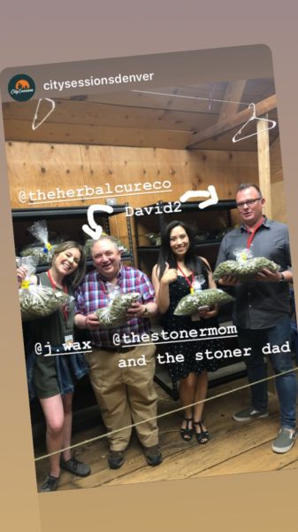 Behind the scenes during a City Sessions dispensary tour